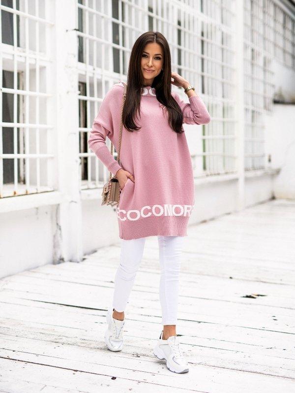 Tunika Cocomore Sweater Różowa