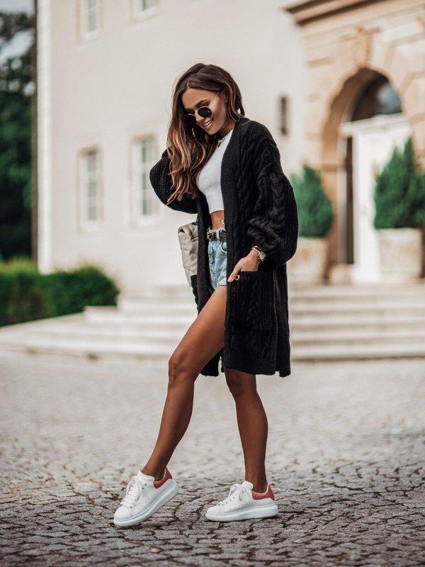 Sweter Aurella Czarny