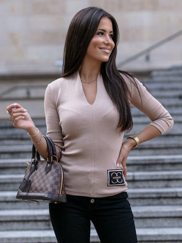 Bluzka lucas Beżowa