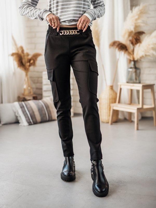 Spodnie Glow Czarne