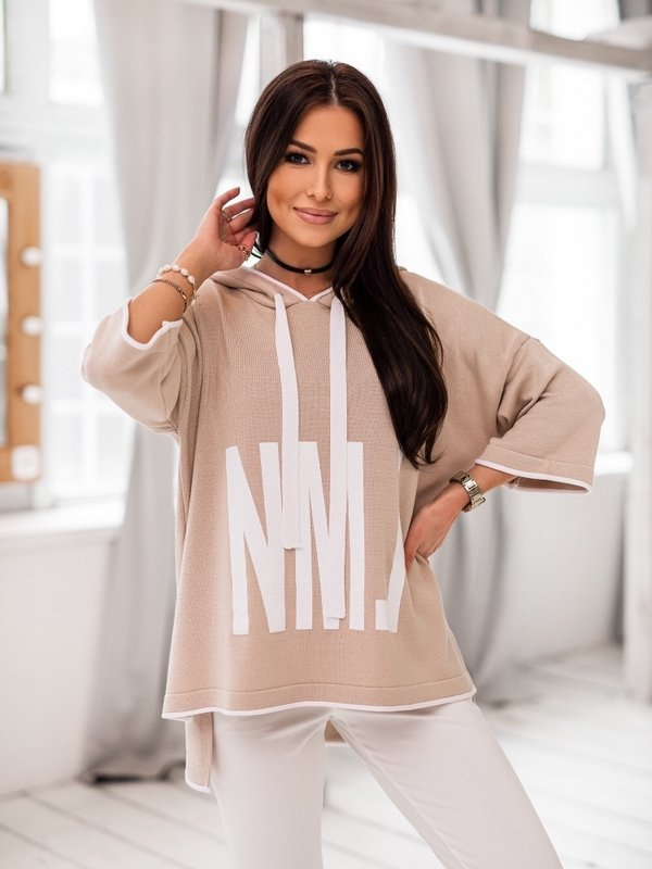 Sweter NML Beżowy