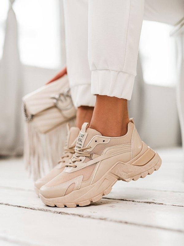 Sneakersy Stay Real Różowe
