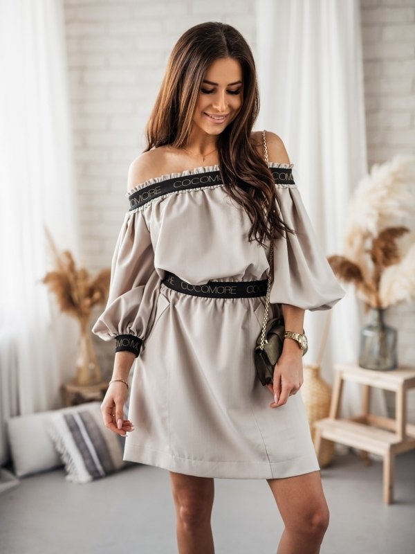Sukienka Revelo Latte