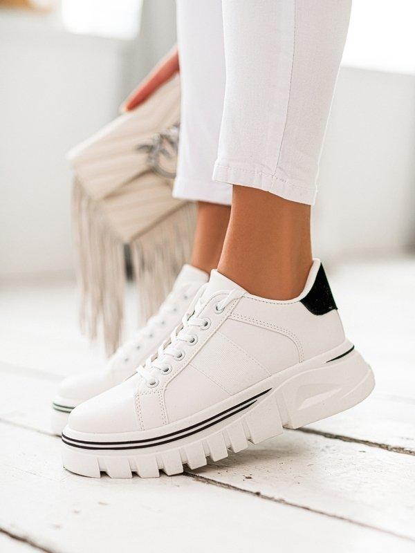 Sneakersy Fidelia Białe