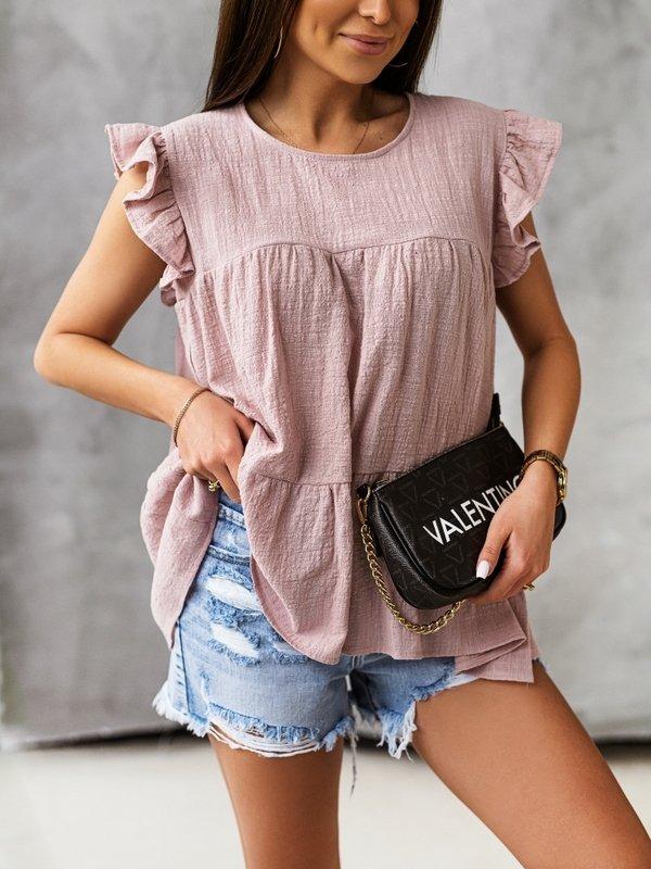 Bluzka Cambria Różowa