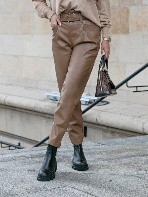 Spodnie Jazmina Karmelowe