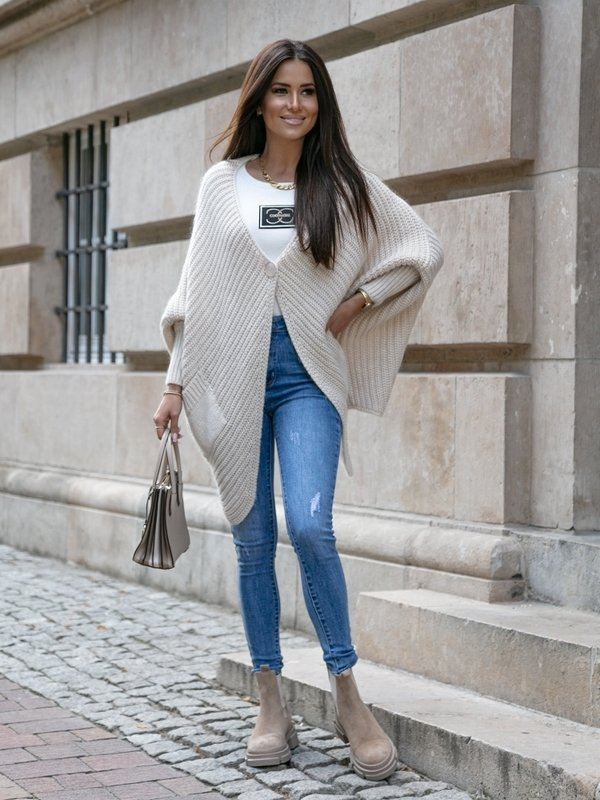 Sweter Canion Beżowy