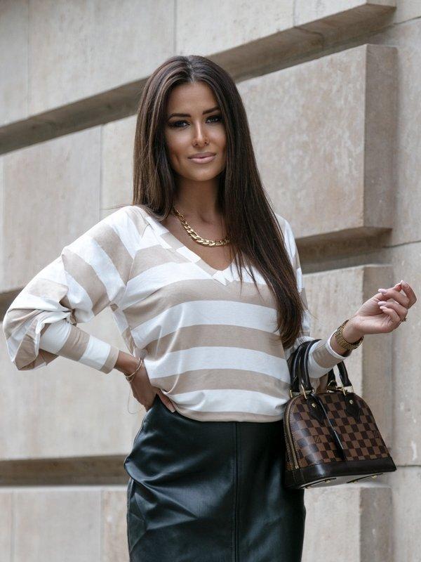 Bluzka Laurenco Beżowa