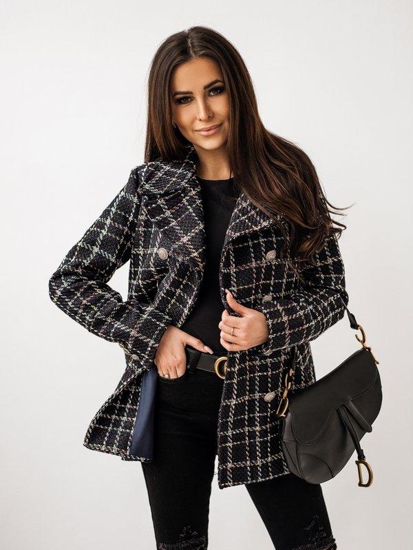 Płaszcz Marena Granatowy