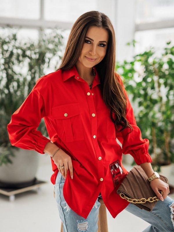 Koszula Carlita Czerwona