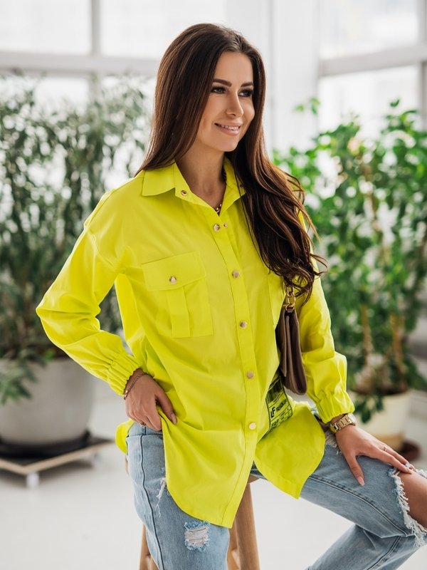 Koszula Carlita Żółta
