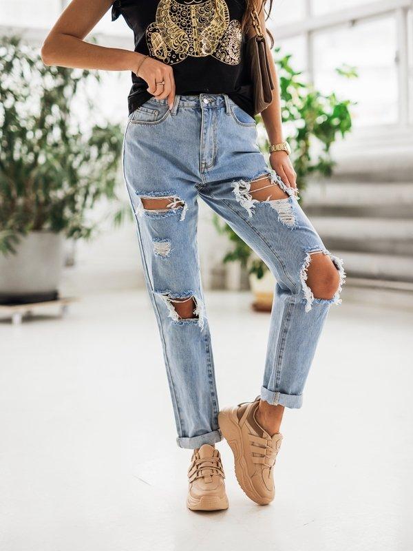Spodnie Flint Jeansowe