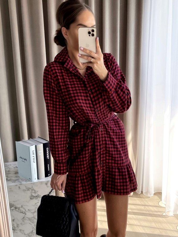Sukienka Logan Czerwona
