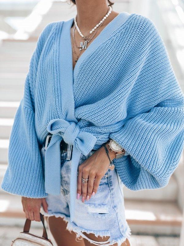Sweter Rita Niebieski