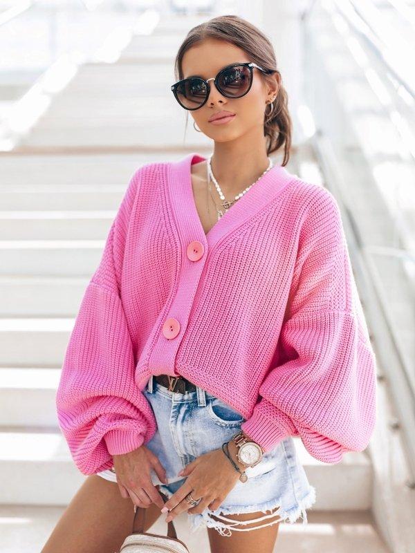 Sweter Vanessa New Różowy