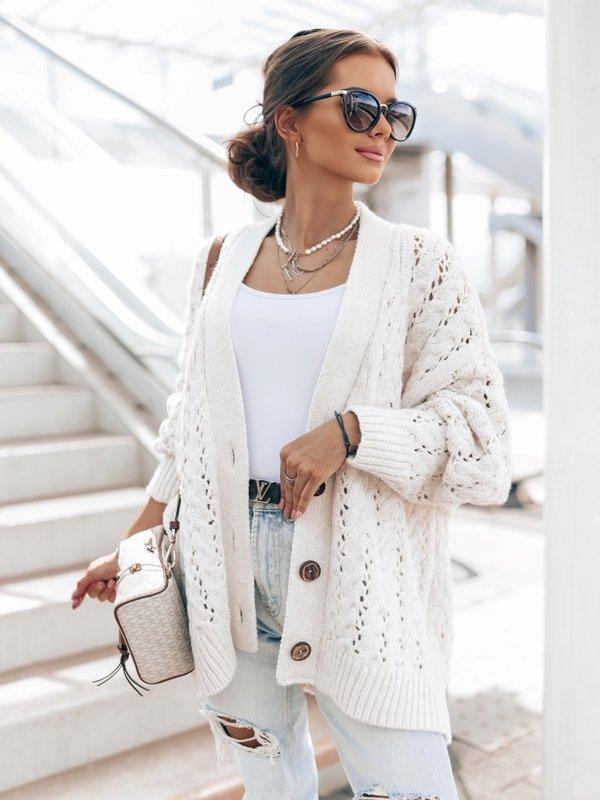 Sweter Charlotte Biały