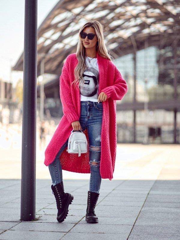 Sweter Remise Amarantowy