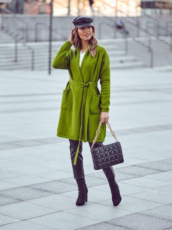 Sweter Twister Zielony