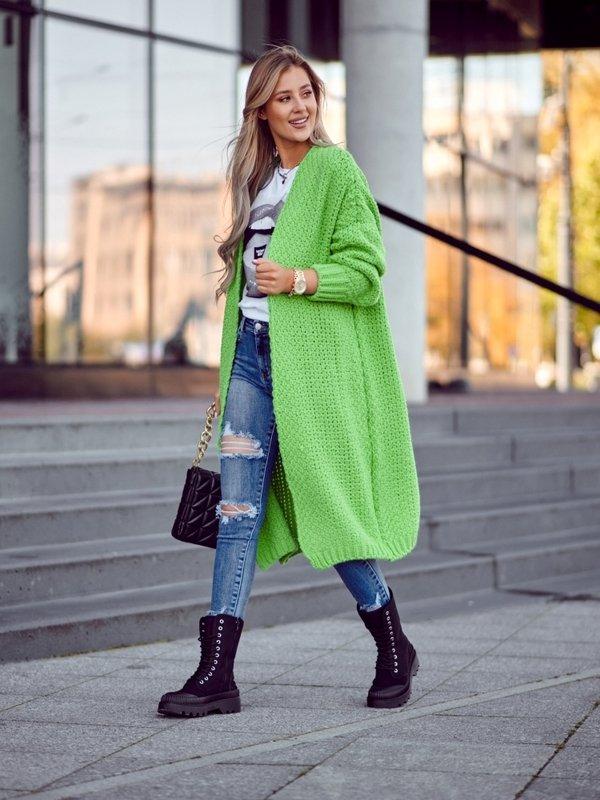 Sweter Remise Zielony