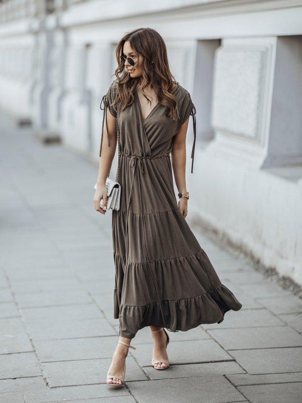 Sukienka Sensa Khaki