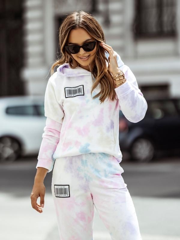 Bluza Funny Colour Pudrowa