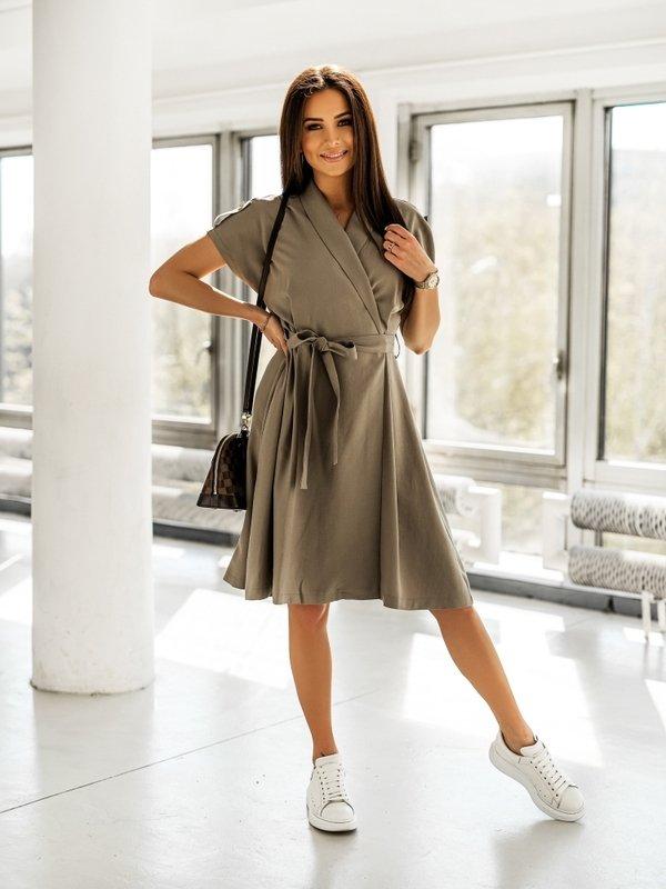 Sukienka Bella Khaki