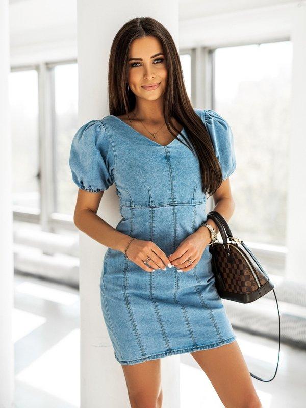 Sukienka Merio Jeans Niebieska