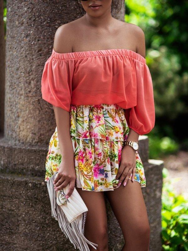 Spódnica Holy Pomarańczowa