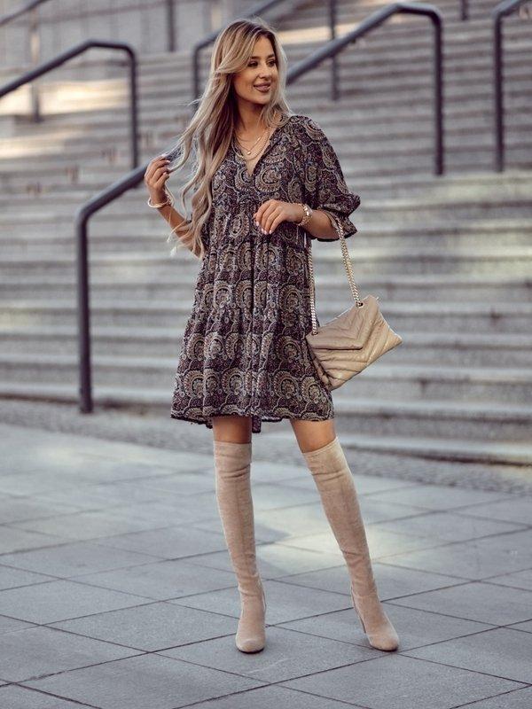 Sukienka Marina Czarna