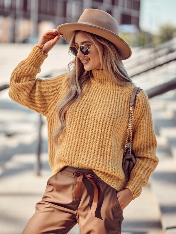Sweter Horton Żółty