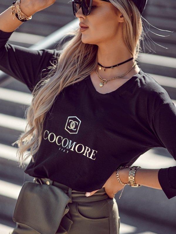 Bluzka Coco Fashion Czarna