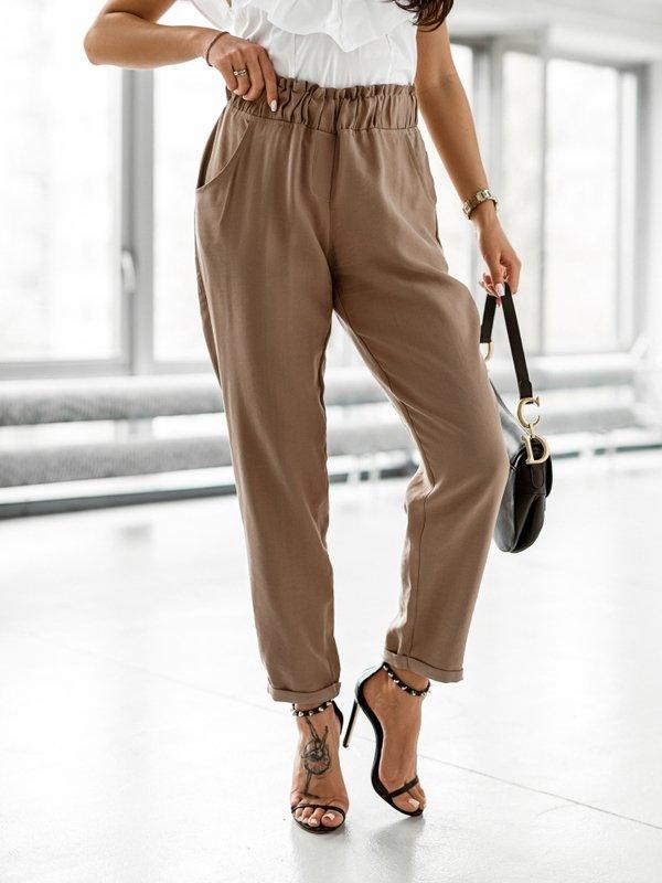 Spodnie Kuo Brązowe