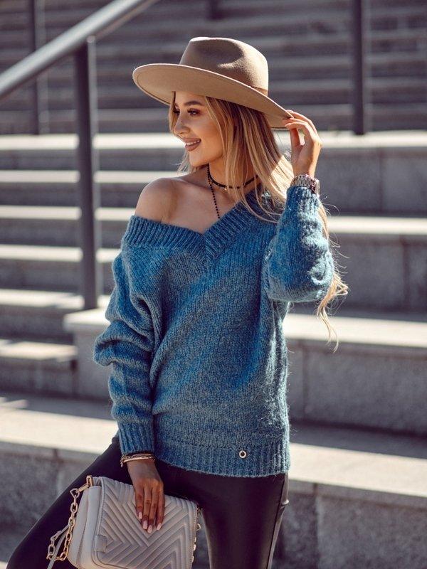 Sweter Ashley Niebieski