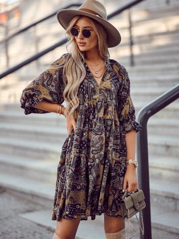 Sukienka Marina Żółta