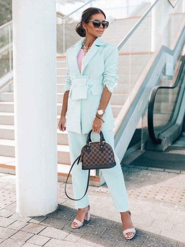 Spodnie Leticia Błękitne