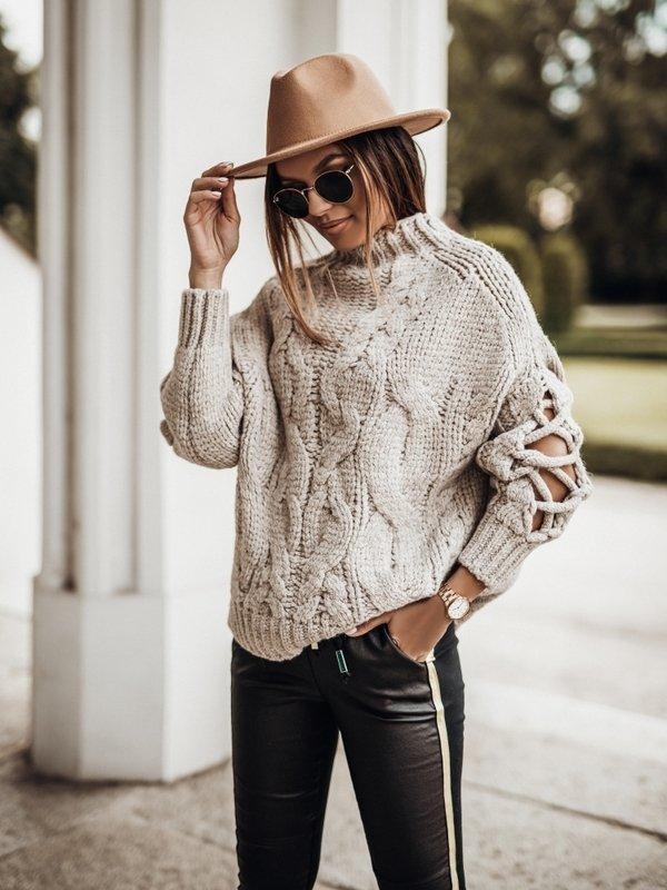 Sweter Sheridan Beżowy
