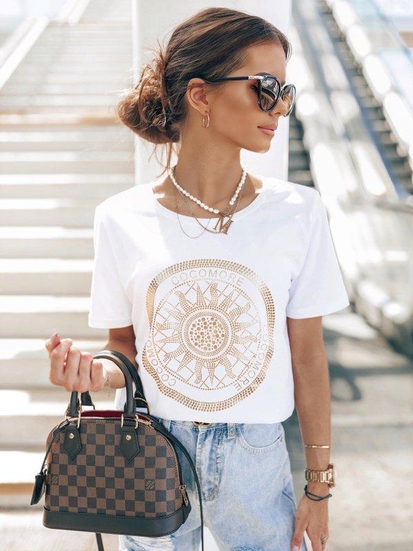 T-shirt Coco Sun Biały