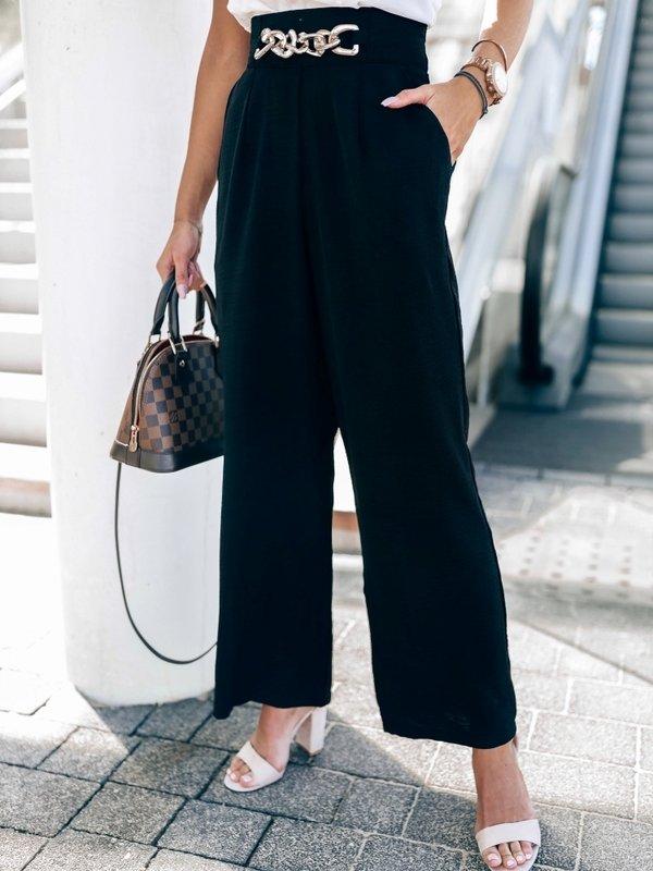 Spodnie Marine Czarne