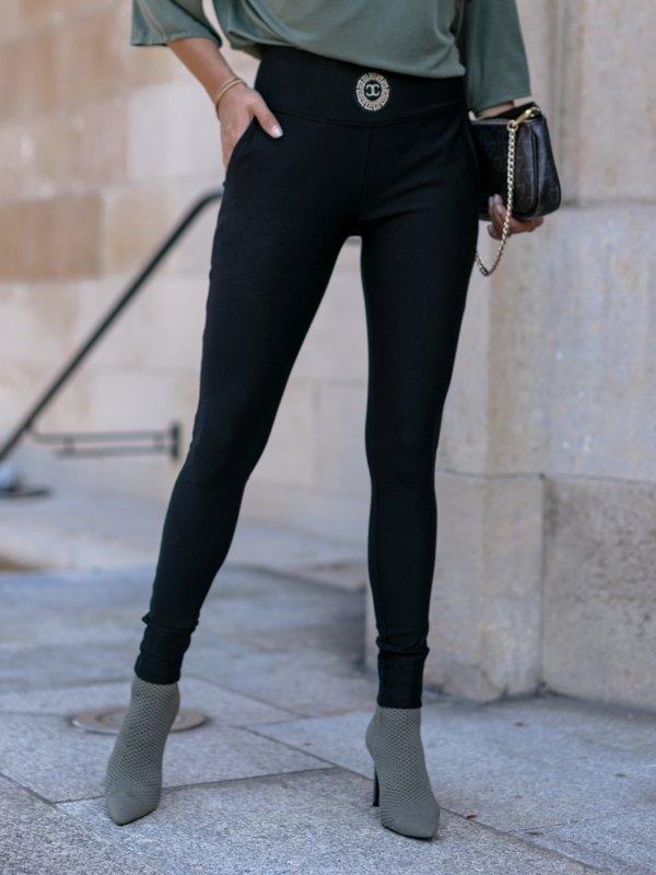 Spodnie Savilone Czarne