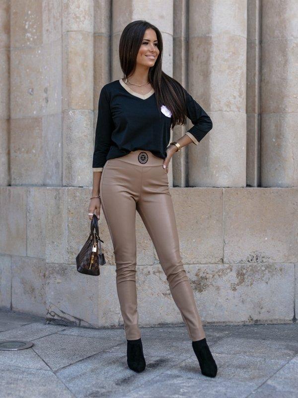 Spodnie Samara Karmelowe
