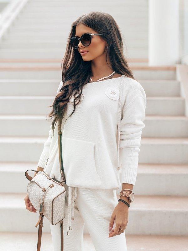 Sweter Anabella Biały