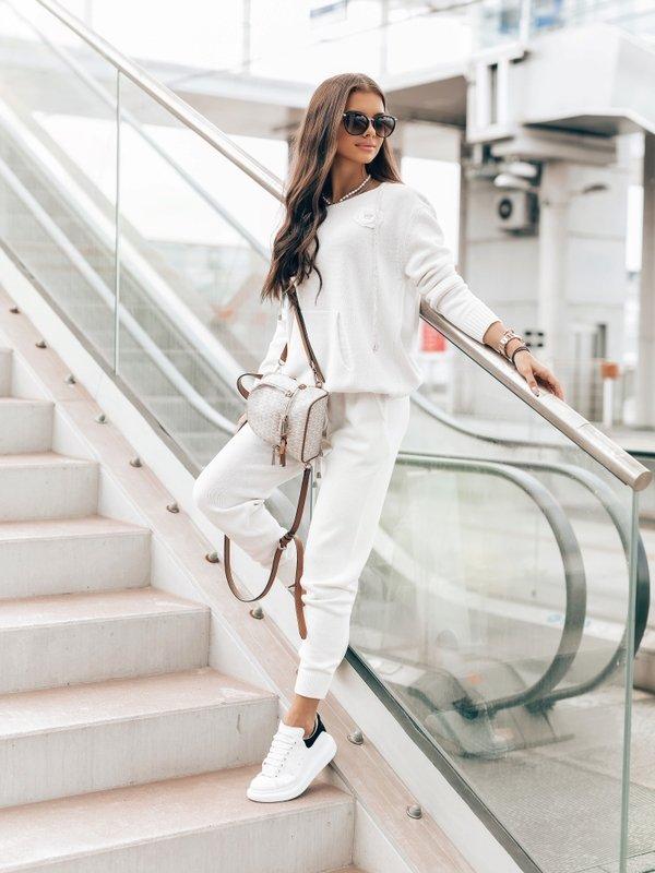 Spodnie Anabella Białe