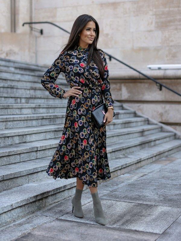 Sukienka Mahony Czarna