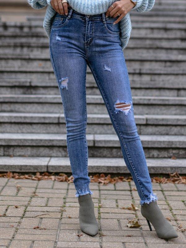 Spodnie Review Jeans Niebieskie