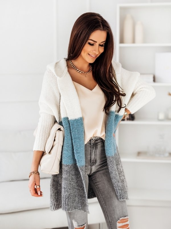 Sweter Tres Błękitny