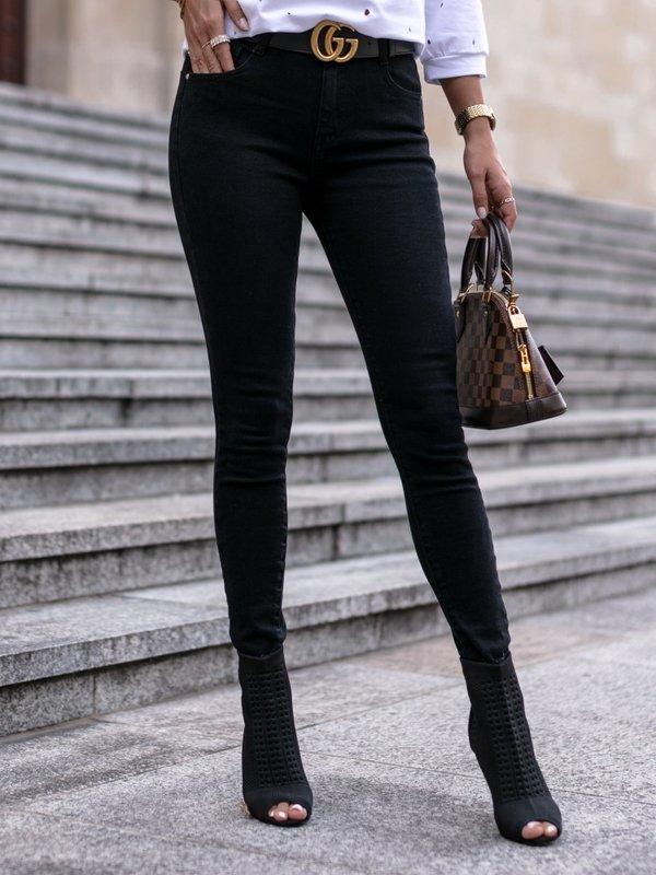Spodnie Tokio Jeans Czarne