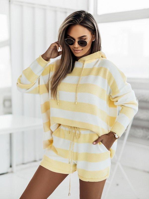 Sweter Galdar Żółty