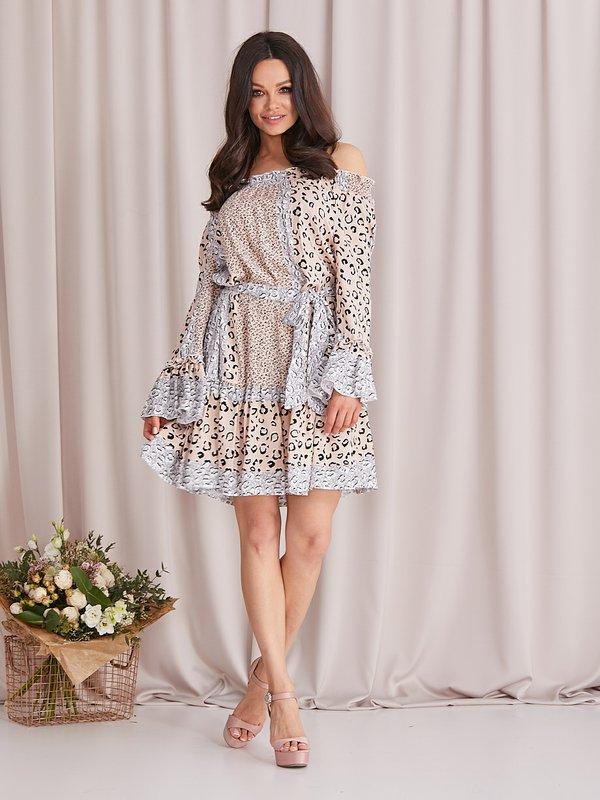 Sukienka Kala Pudrowa