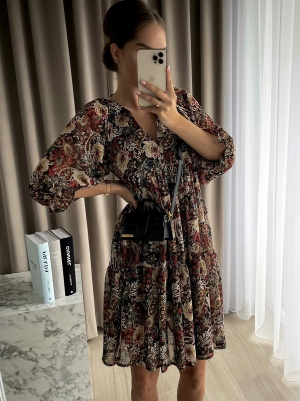 Sukienka Semilla Czarna