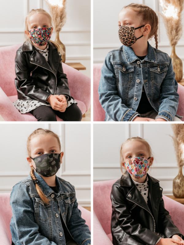 Maska Dziecięca Mix 3szt.